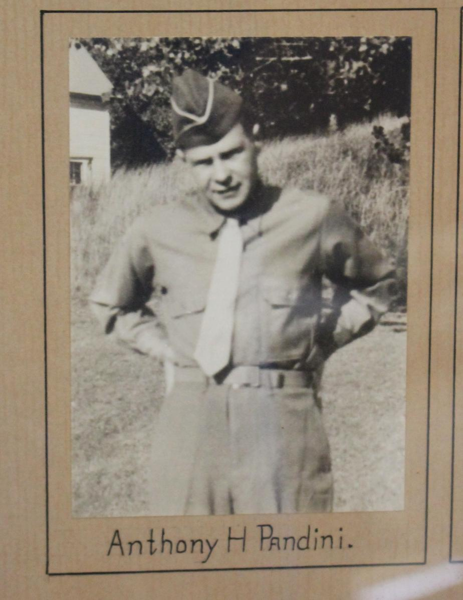 Franklin New Hampshire - Heroes of World War II Anthony H Pandini