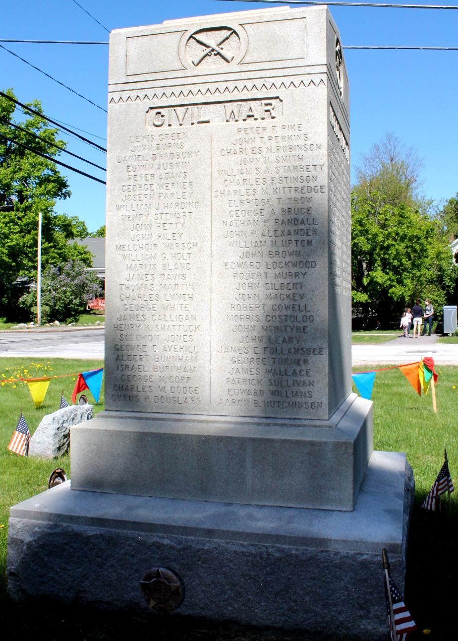 Mont Vernon NH Civil War Honor Roll