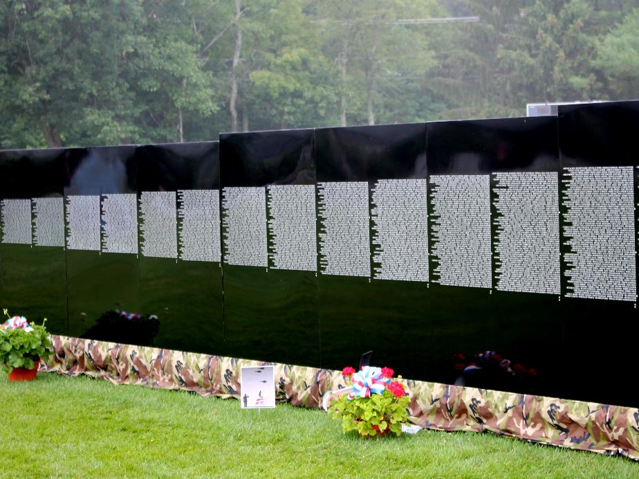 Vietnam Veterans Memorial - Moving Wall in Amherst NH July 21 2018